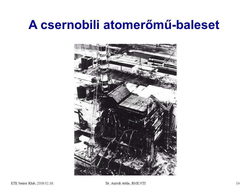 A csernobili atomerőmű-baleset