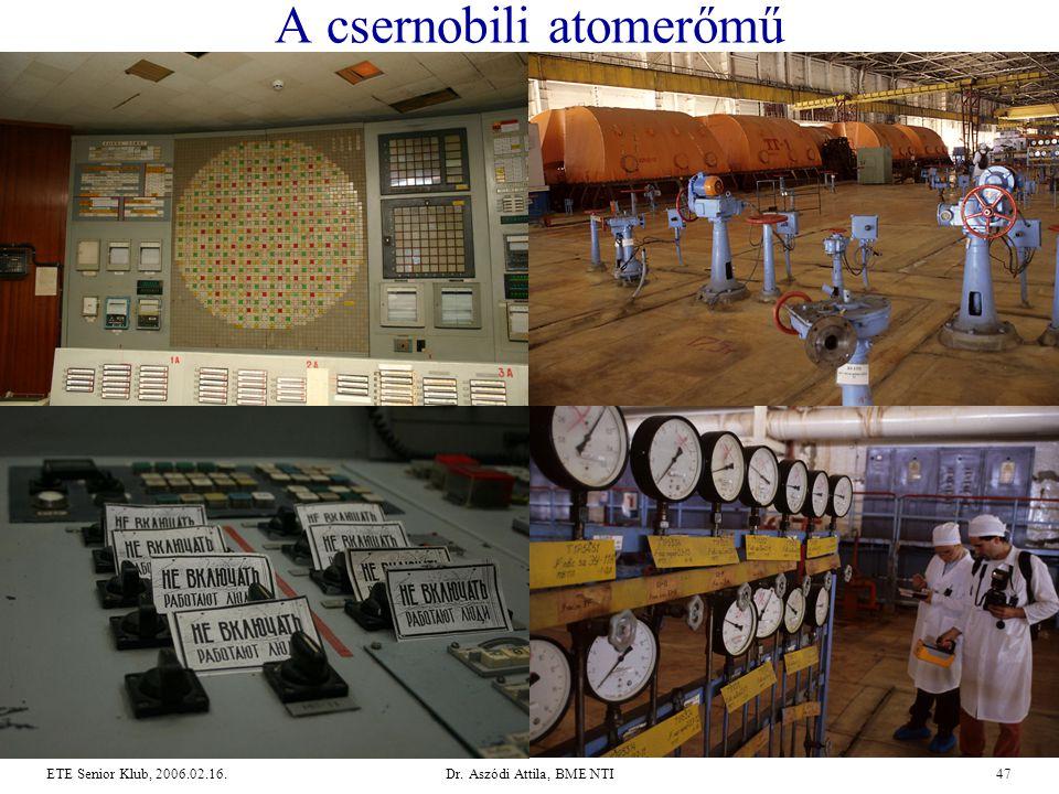 A csernobili atomerőmű