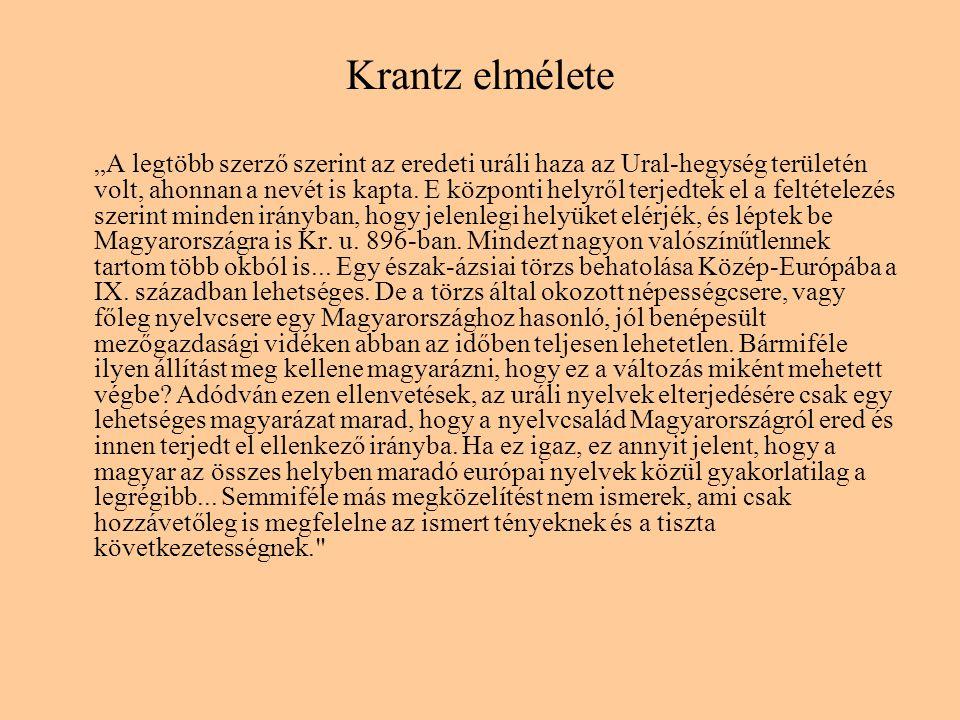 Krantz elmélete