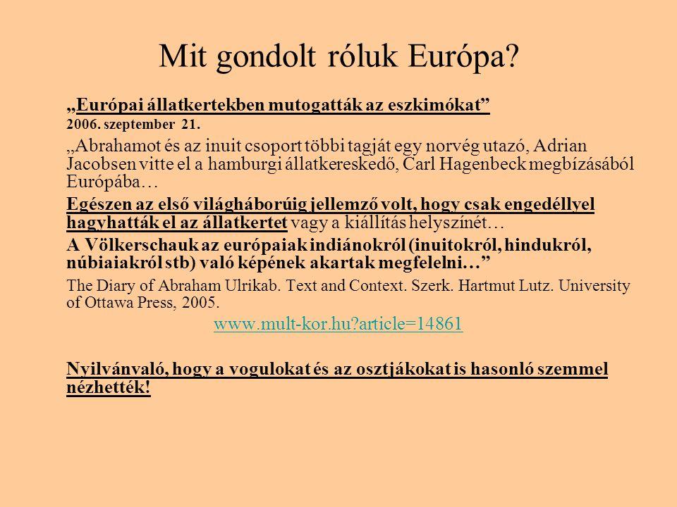 Mit gondolt róluk Európa