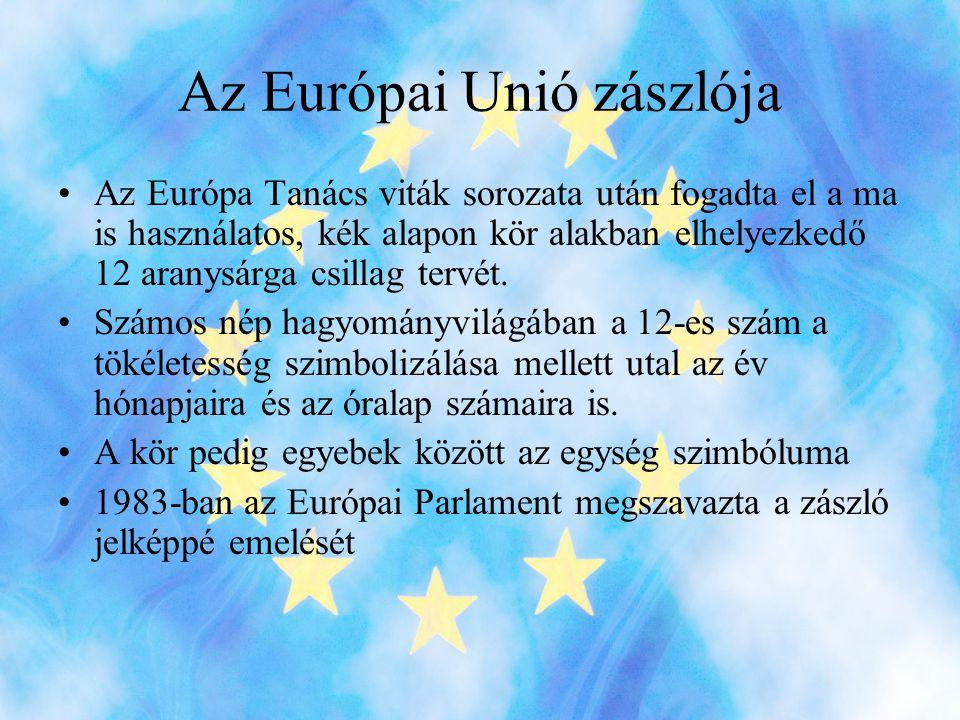 Az Európai Unió zászlója