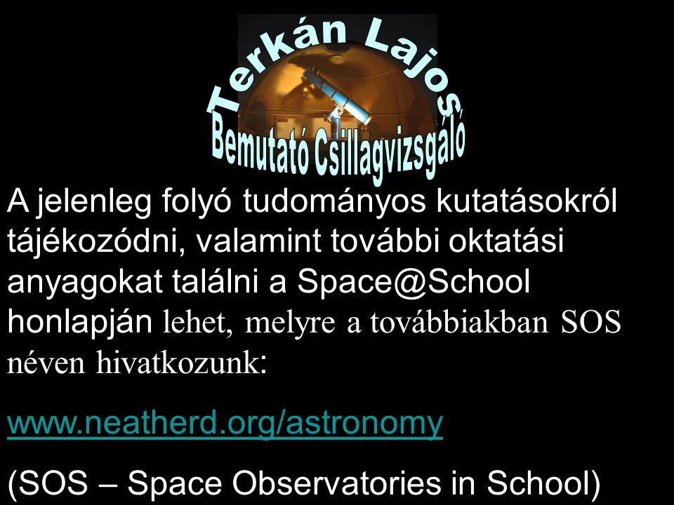 Bemutató Csillagvizsgáló