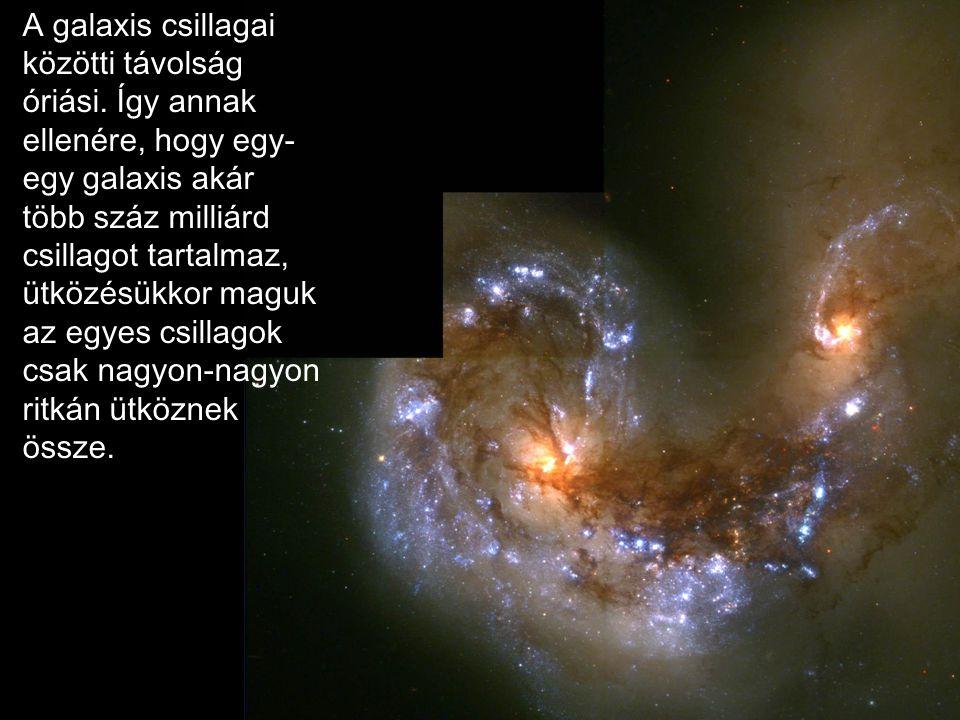 A galaxis csillagai közötti távolság óriási