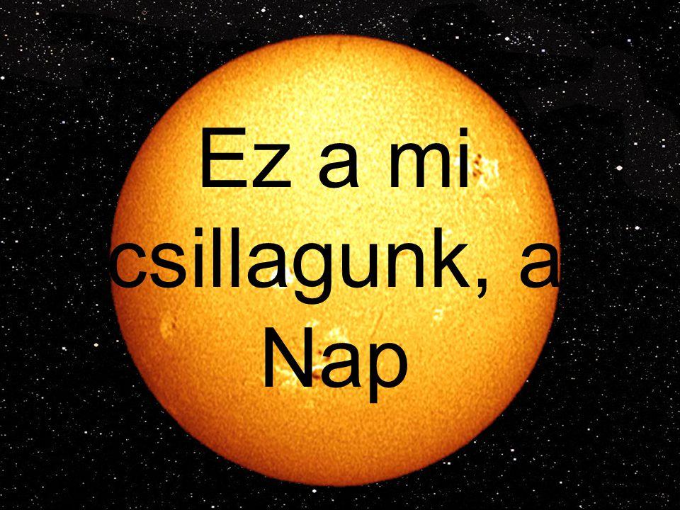 Ez a mi csillagunk, a Nap