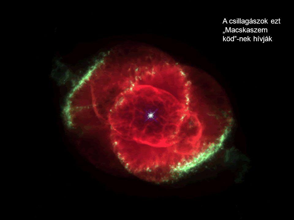 """A csillagászok ezt """"Macskaszem köd -nek hívják"""