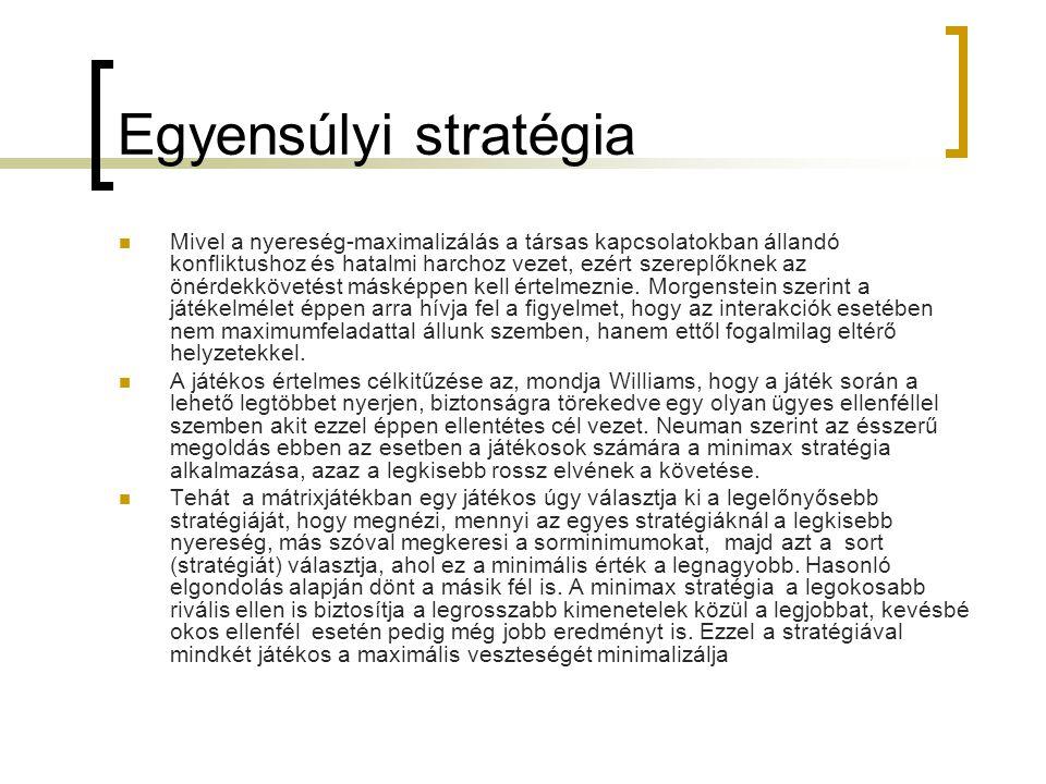 Egyensúlyi stratégia