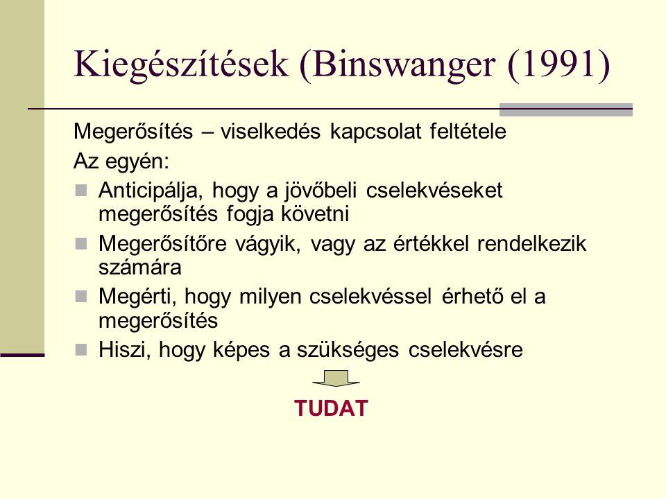 Kiegészítések (Binswanger (1991)