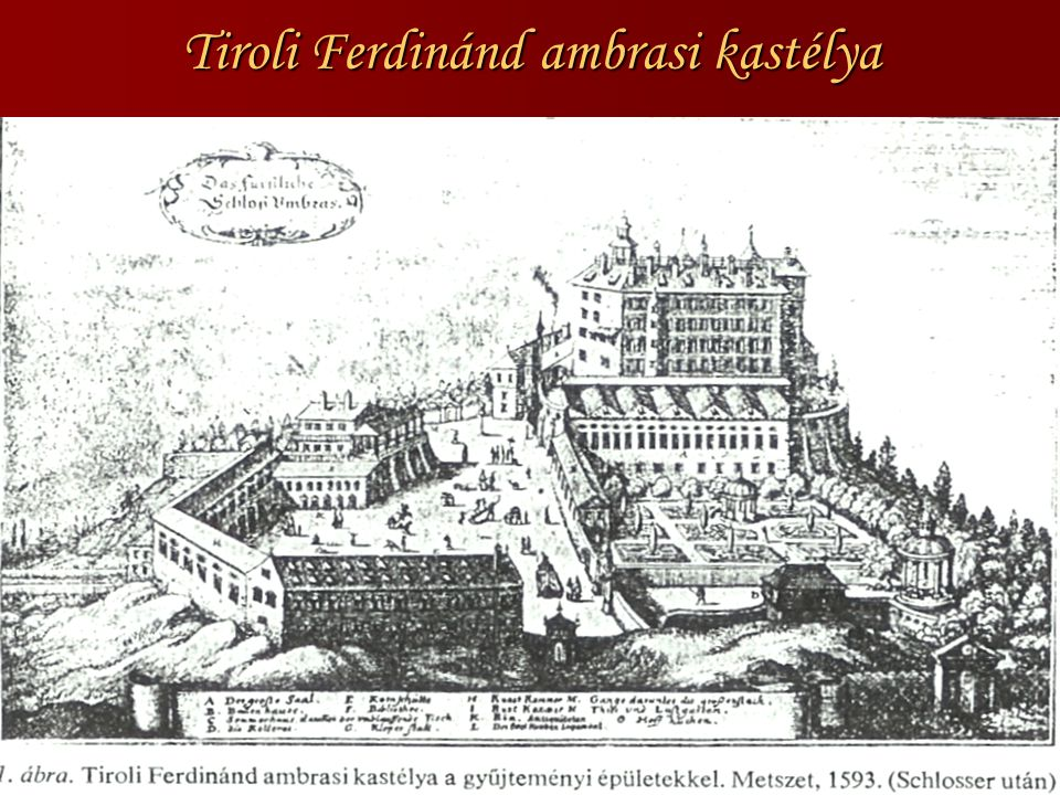 Tiroli Ferdinánd ambrasi kastélya