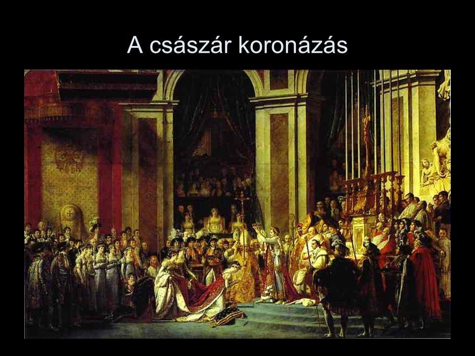 A császár koronázás