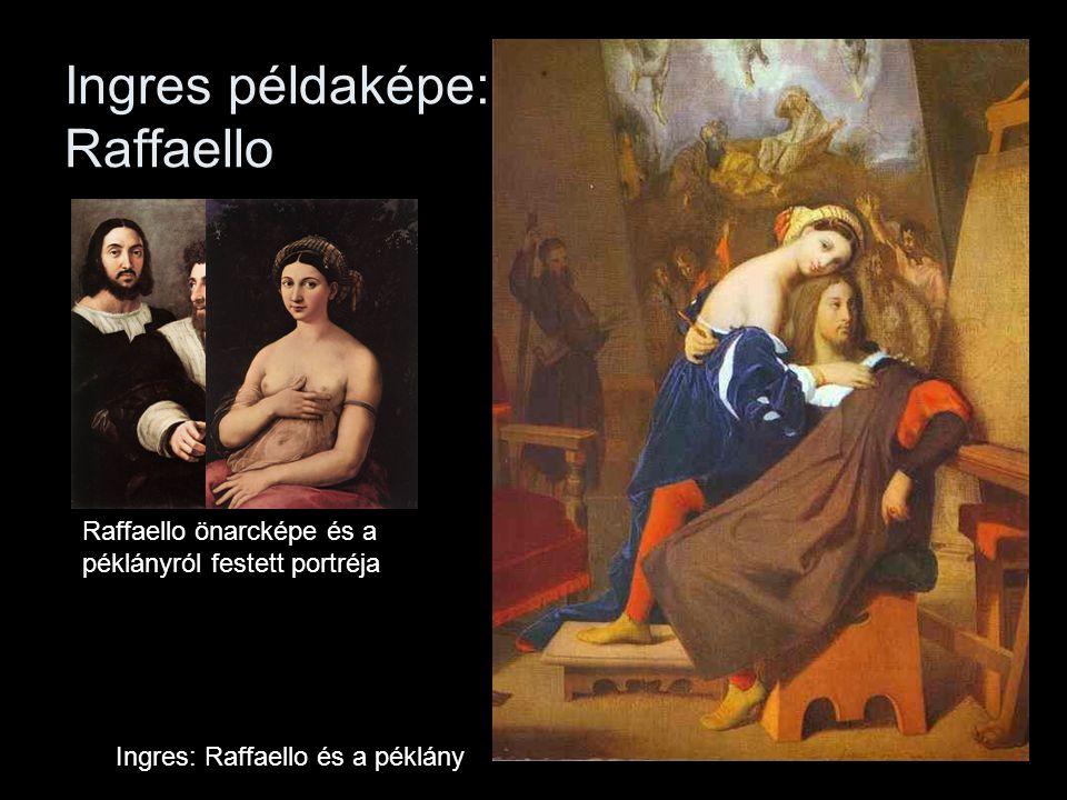 Ingres példaképe: Raffaello