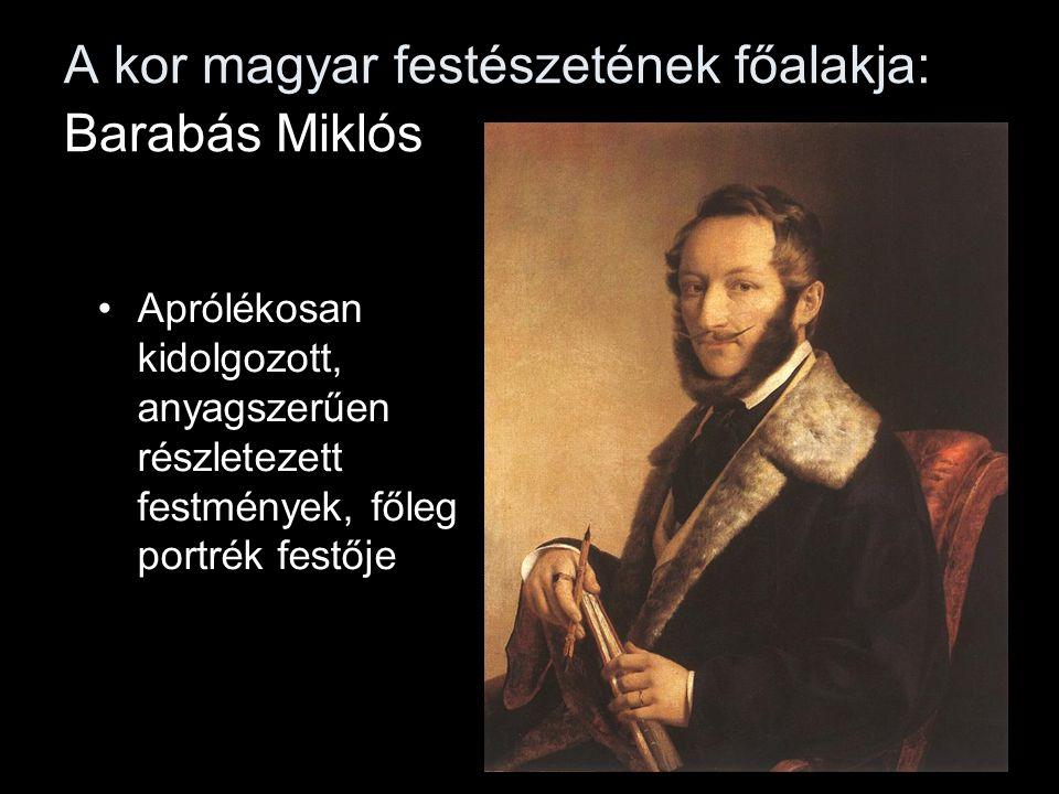 A kor magyar festészetének főalakja: Barabás Miklós