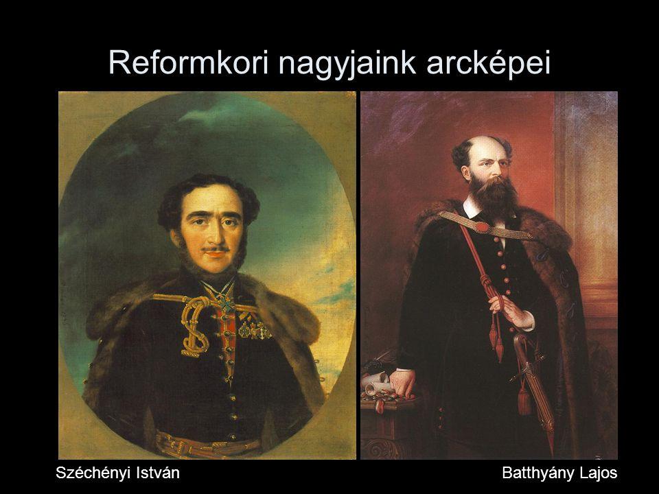 Reformkori nagyjaink arcképei