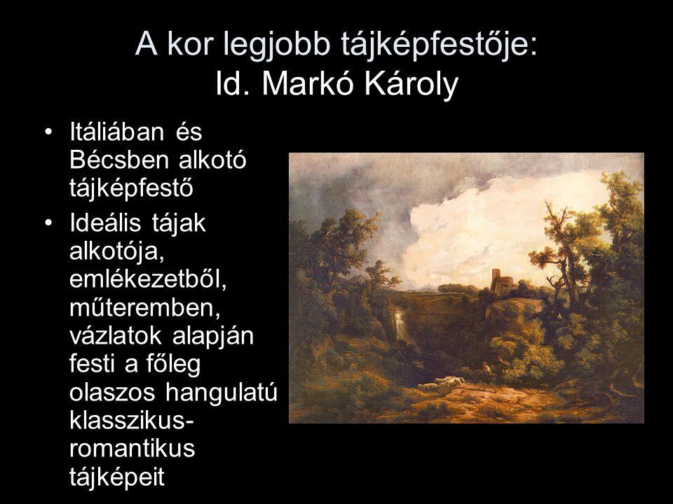 A kor legjobb tájképfestője: Id. Markó Károly