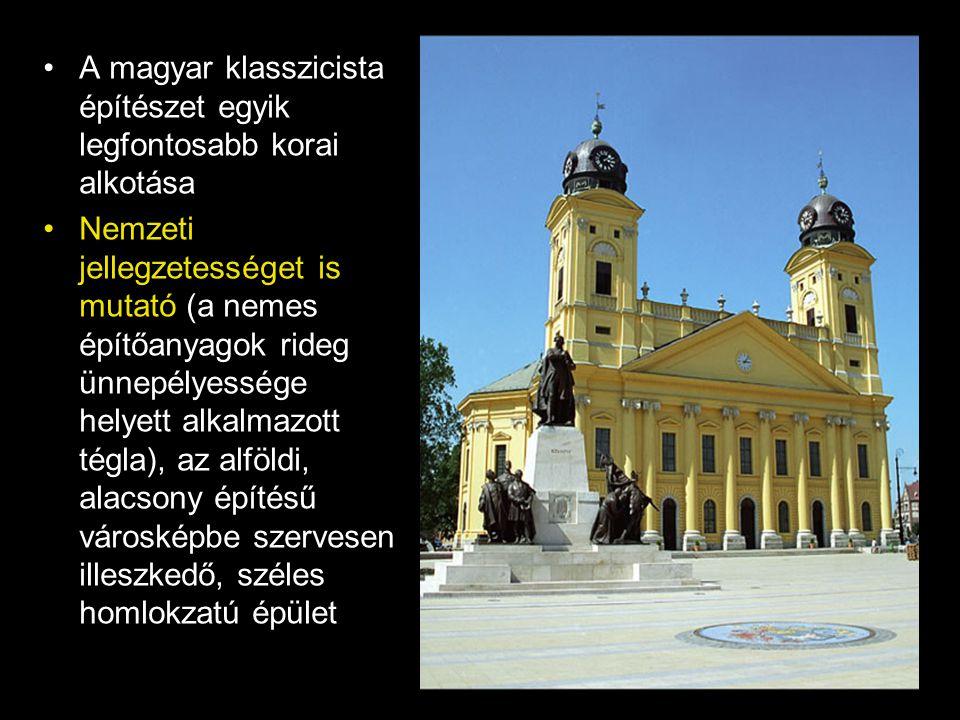 A magyar klasszicista építészet egyik legfontosabb korai alkotása