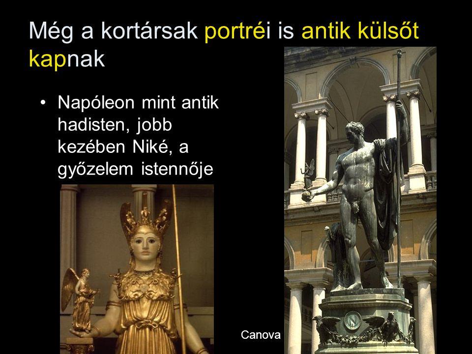 Még a kortársak portréi is antik külsőt kapnak