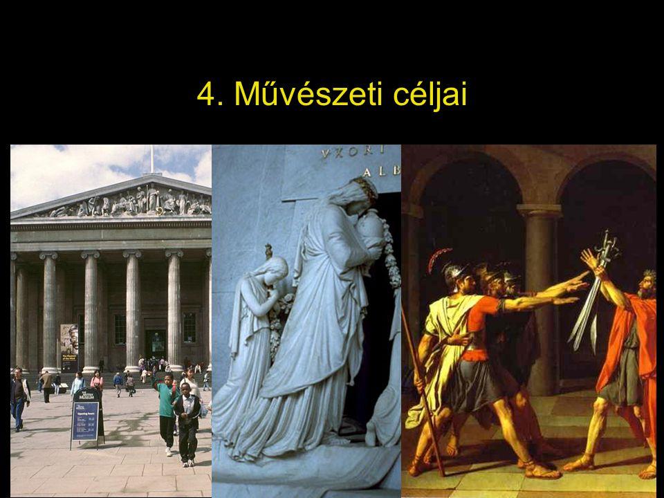 4. Művészeti céljai
