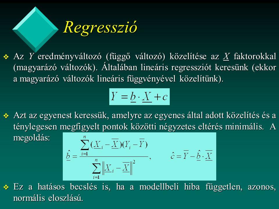 Regresszió