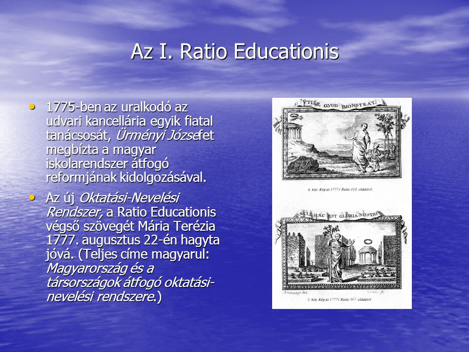 Az I. Ratio Educationis