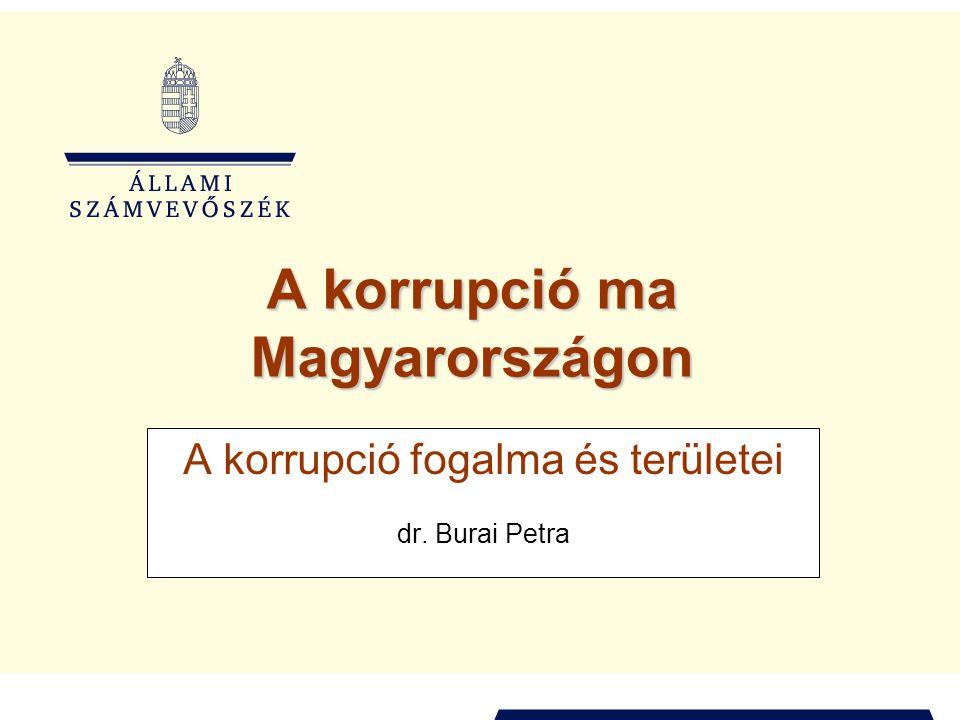 A korrupció ma Magyarországon