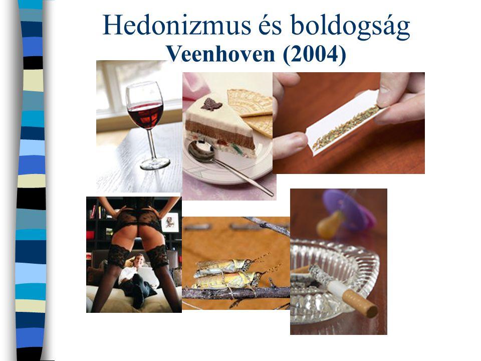 Hedonizmus és boldogság Veenhoven (2004)