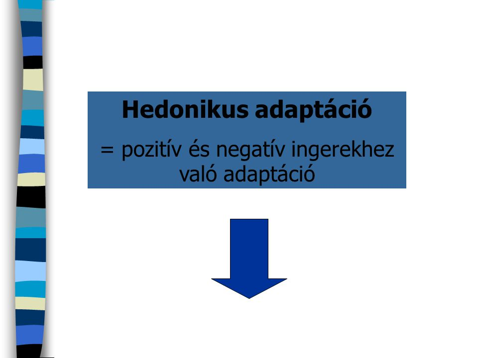 = pozitív és negatív ingerekhez való adaptáció