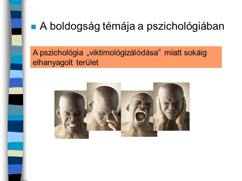 A boldogság témája a pszichológiában