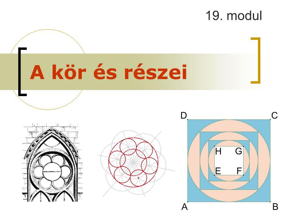 19. modul A kör és részei
