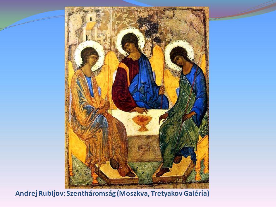 Andrej Rubljov: Szentháromság (Moszkva, Tretyakov Galéria)