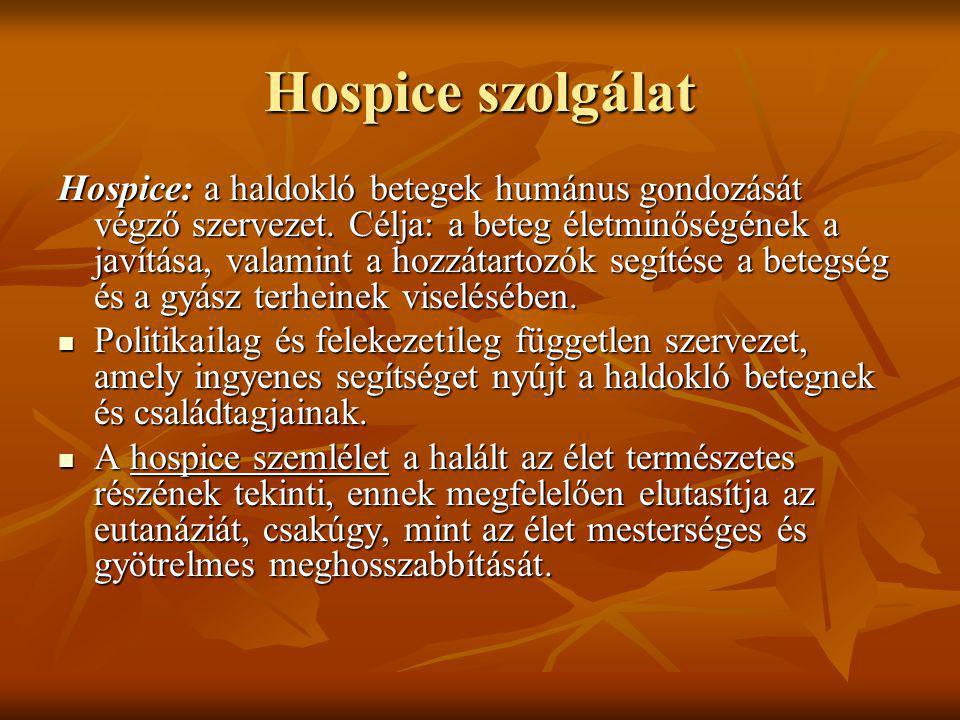 Hospice szolgálat