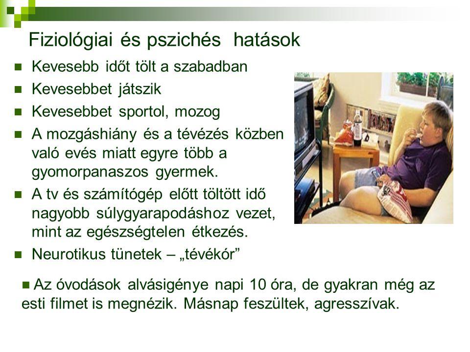 Fiziológiai és pszichés hatások