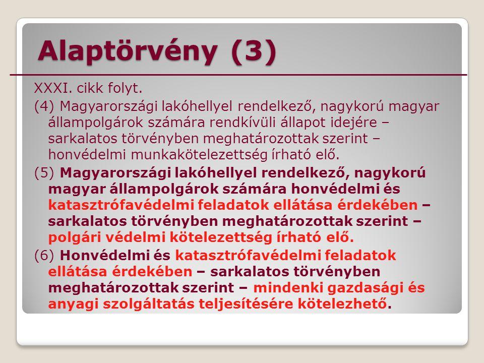 Alaptörvény (3)