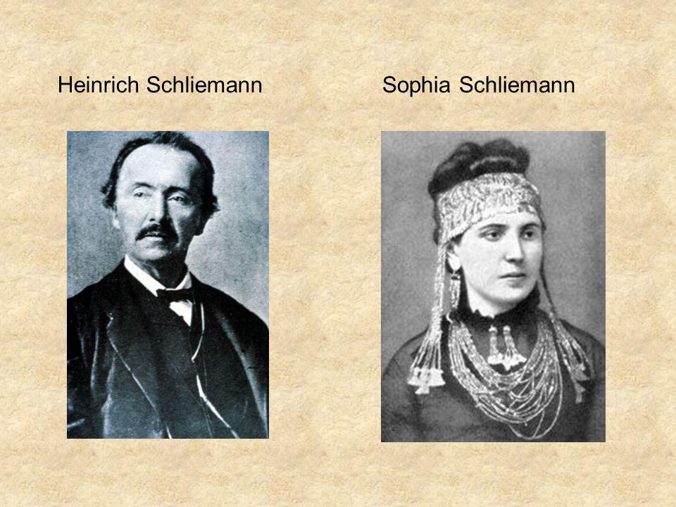 Heinrich Schliemann Sophia Schliemann