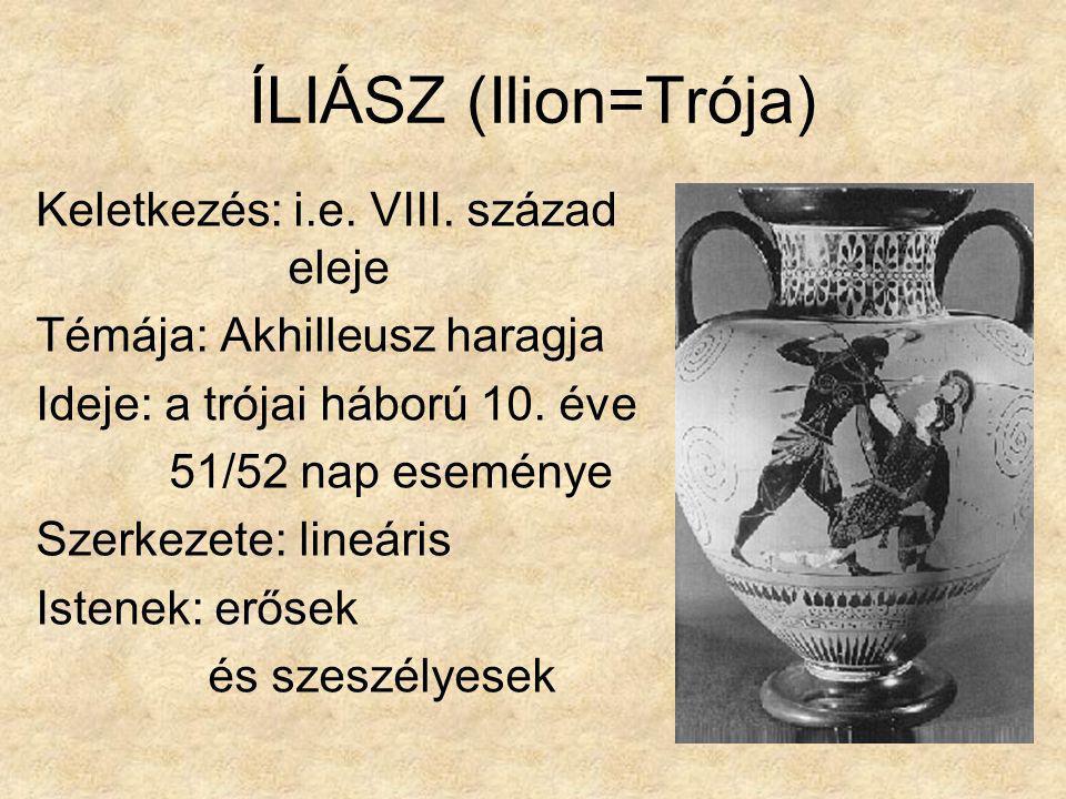 ÍLIÁSZ (Ilion=Trója)