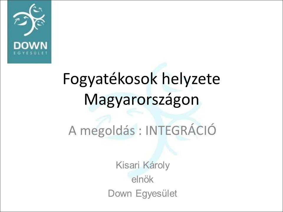 Fogyatékosok helyzete Magyarországon