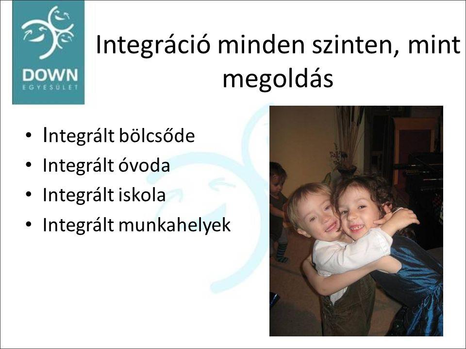 Integráció minden szinten, mint megoldás