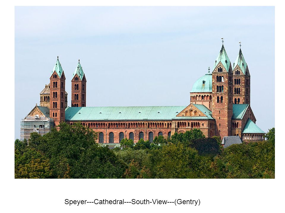 Speyer---Cathedral---South-View---(Gentry)