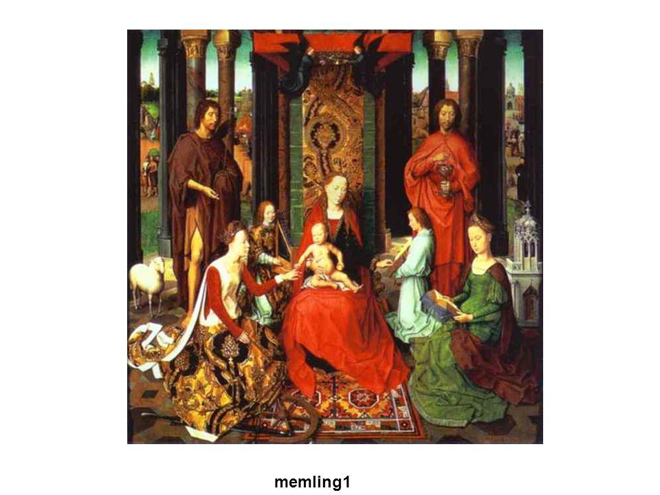 Gótikus művészet memling1