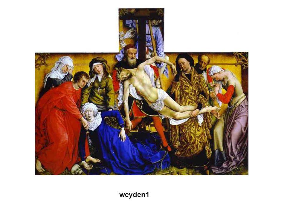 Gótikus művészet weyden1