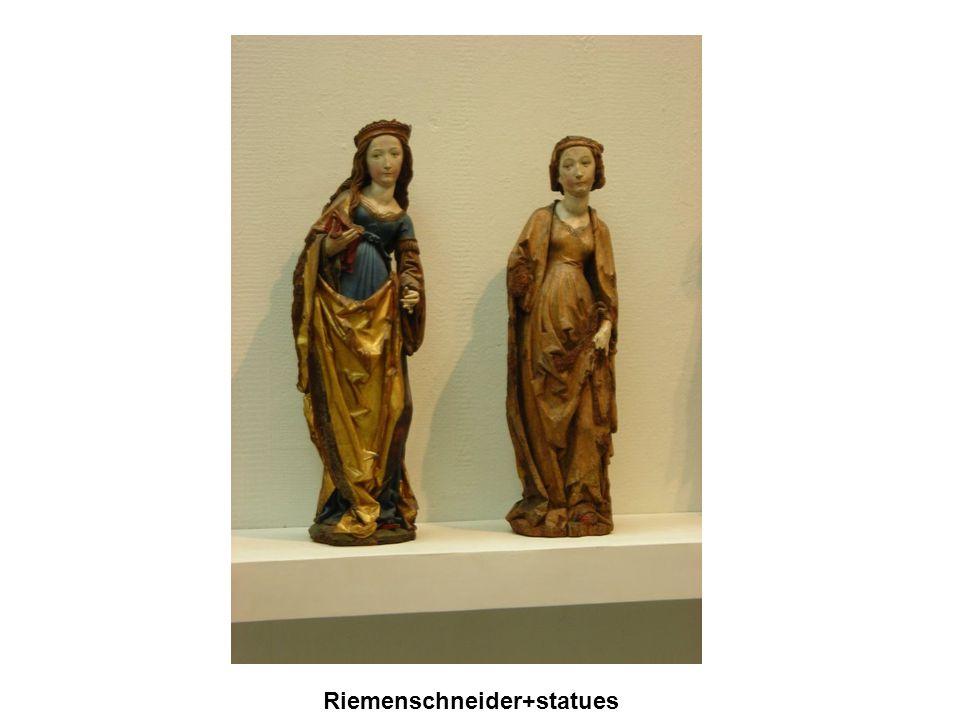 Gótikus művészet Riemenschneider+statues