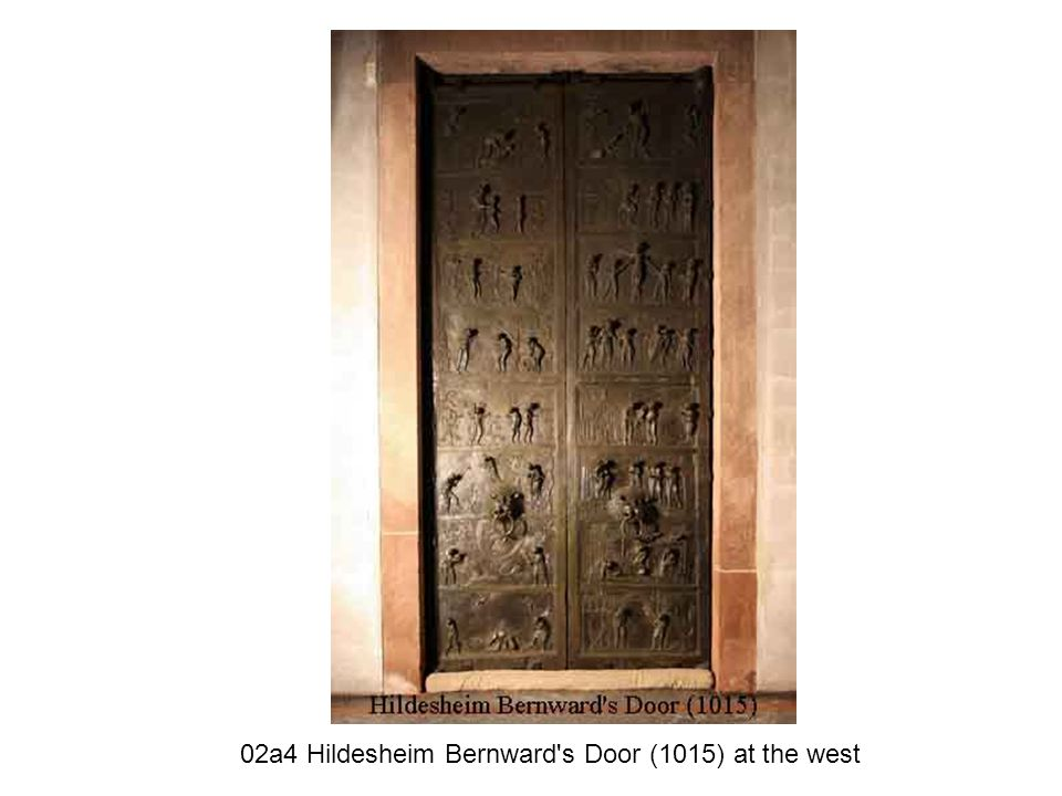 02a4 Hildesheim Bernward s Door (1015) at the west
