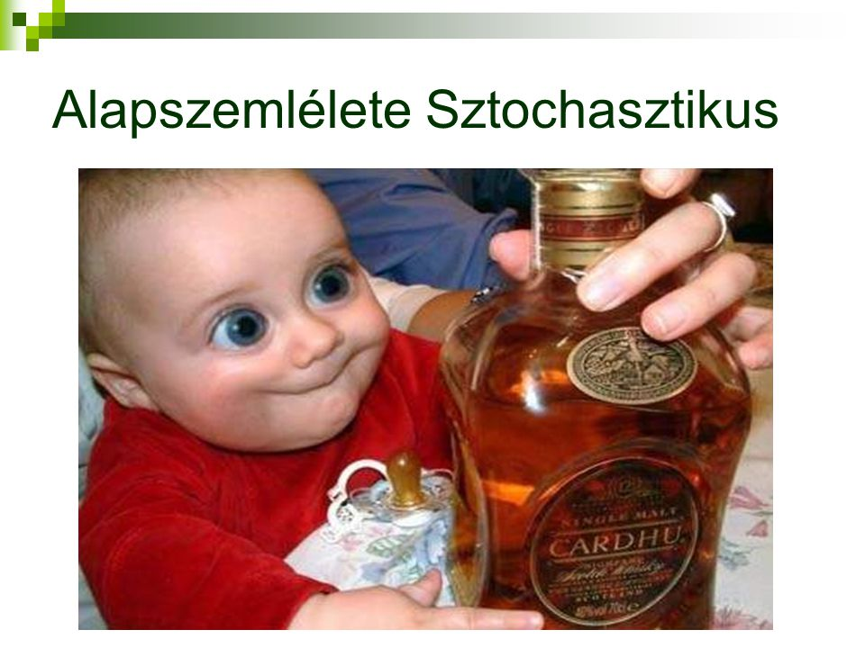 Alapszemlélete Sztochasztikus