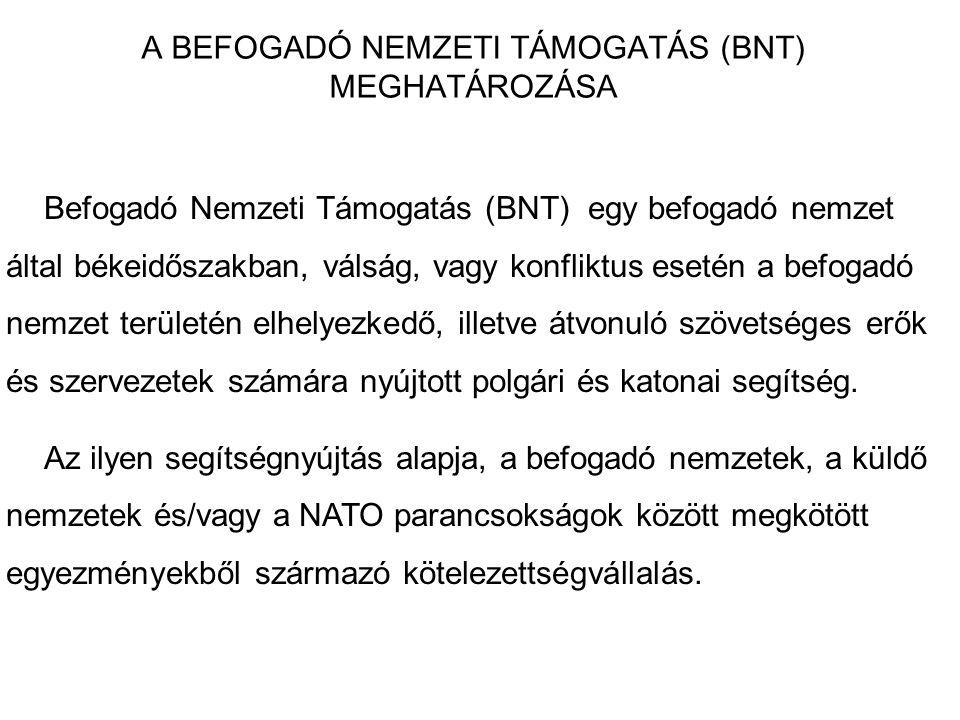 A BEFOGADÓ NEMZETI TÁMOGATÁS (BNT) MEGHATÁROZÁSA