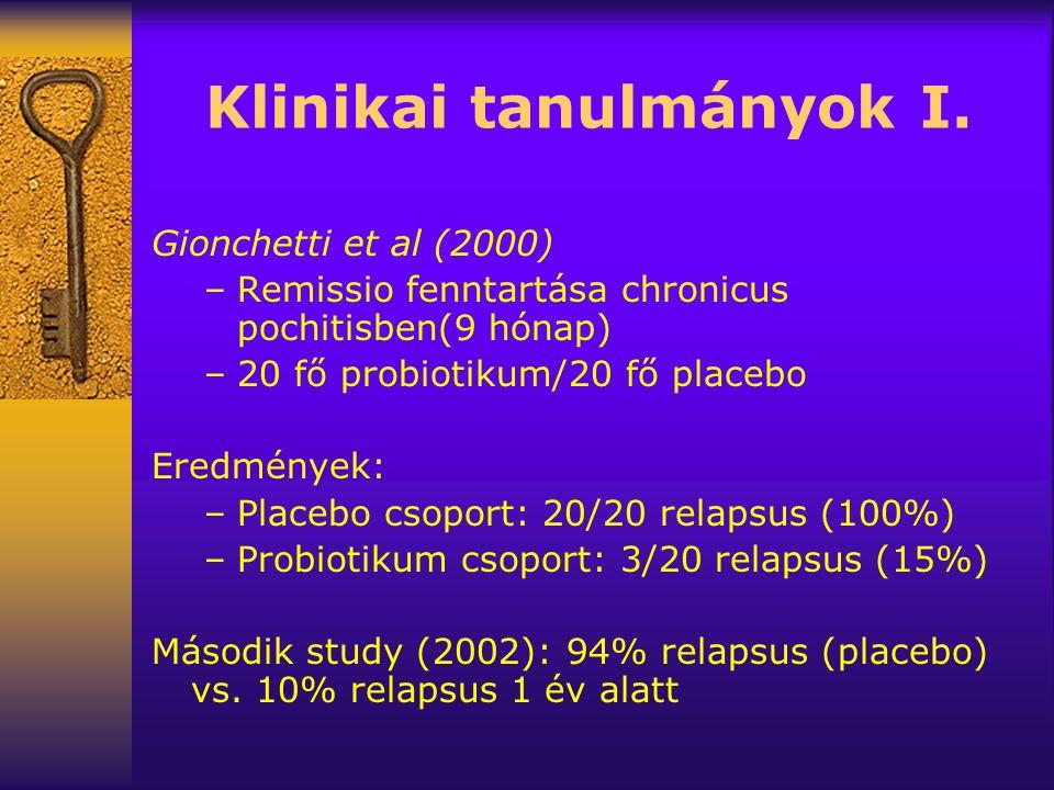 Klinikai tanulmányok I.