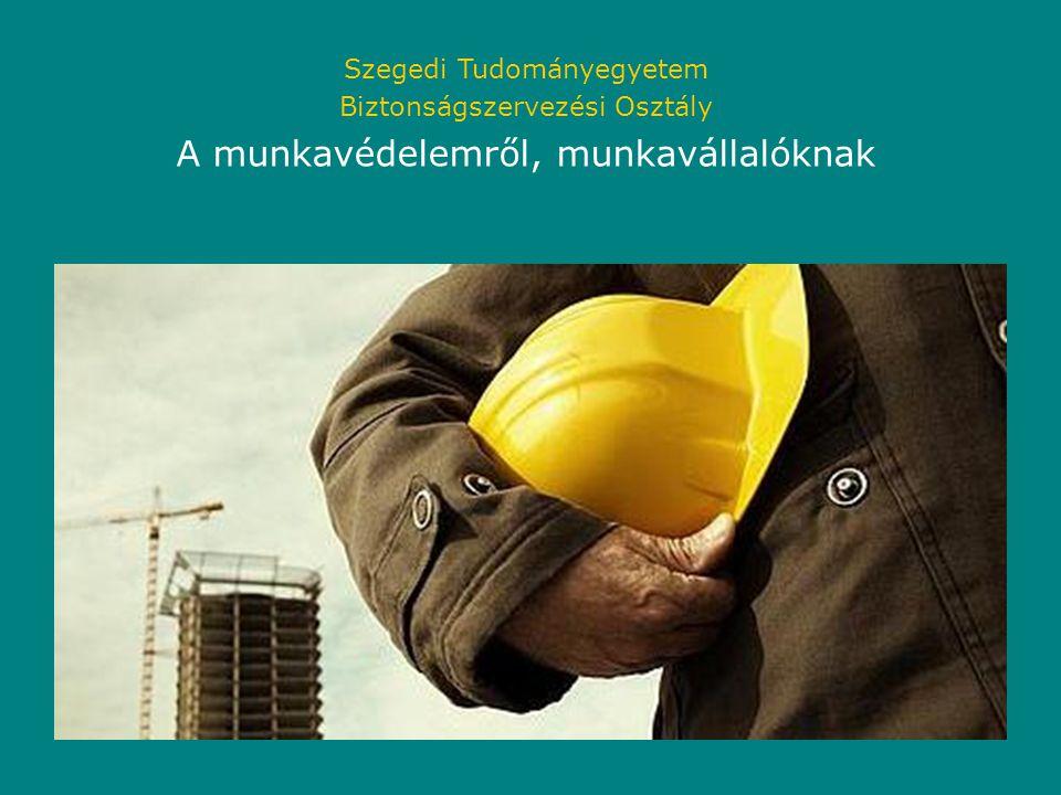 A munkavédelemről, munkavállalóknak