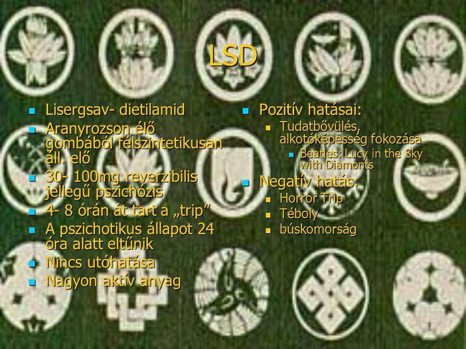LSD Lisergsav- dietilamid