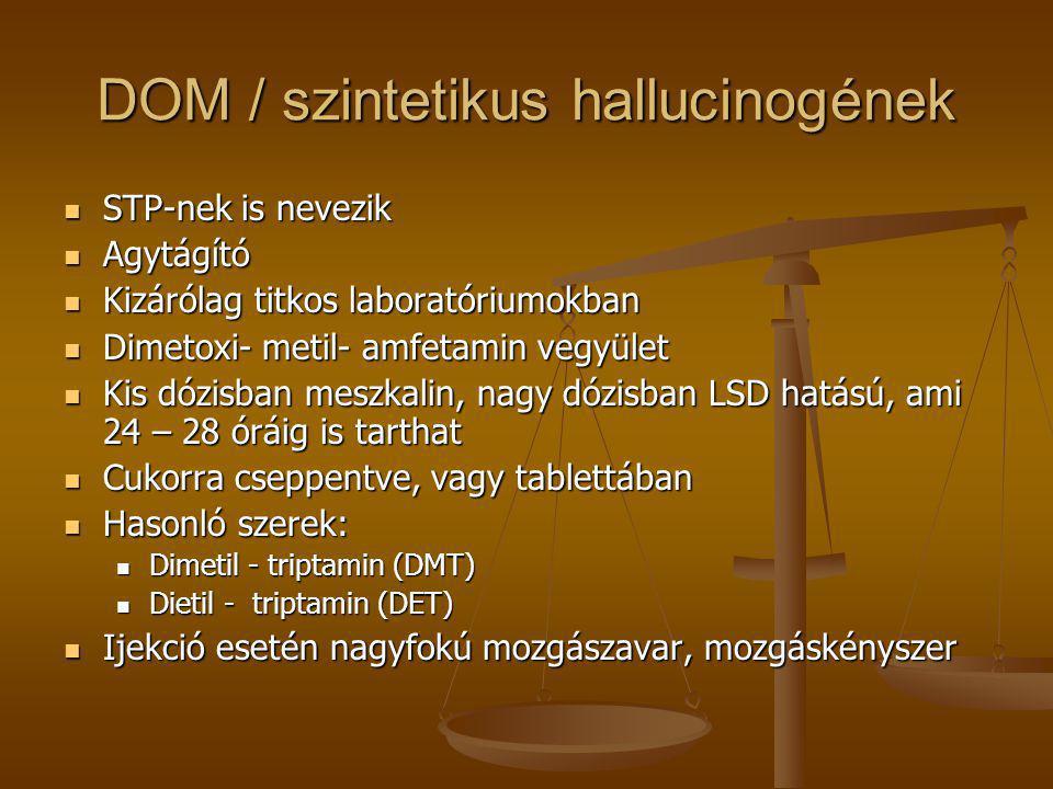 DOM / szintetikus hallucinogének