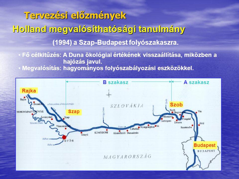 (1994) a Szap-Budapest folyószakaszra.