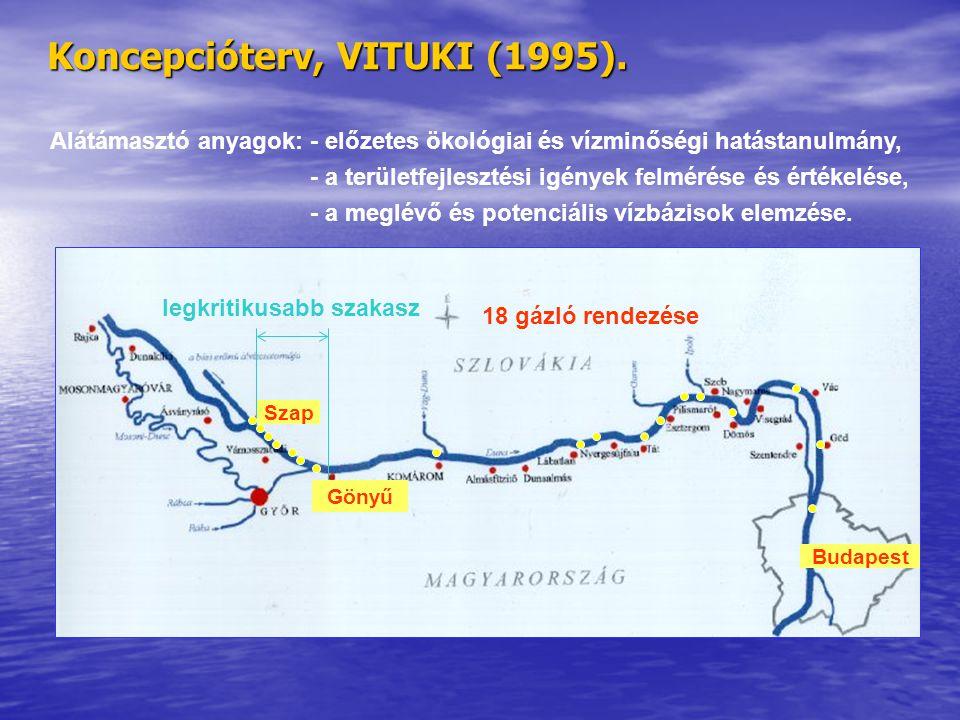 Koncepcióterv, VITUKI (1995).