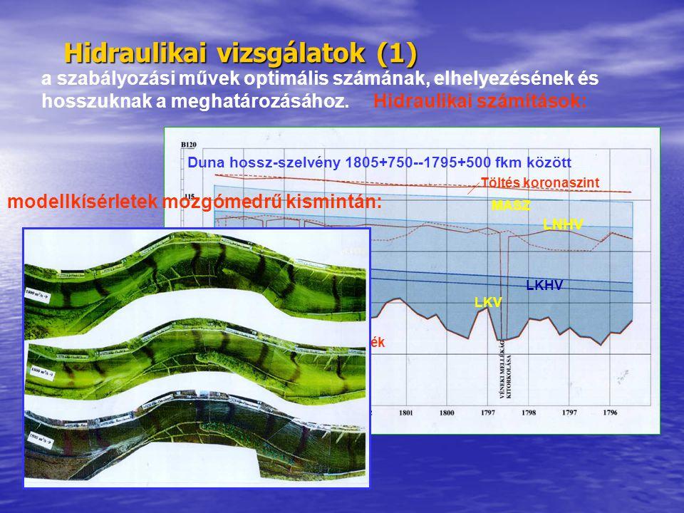 Hidraulikai vizsgálatok (1)