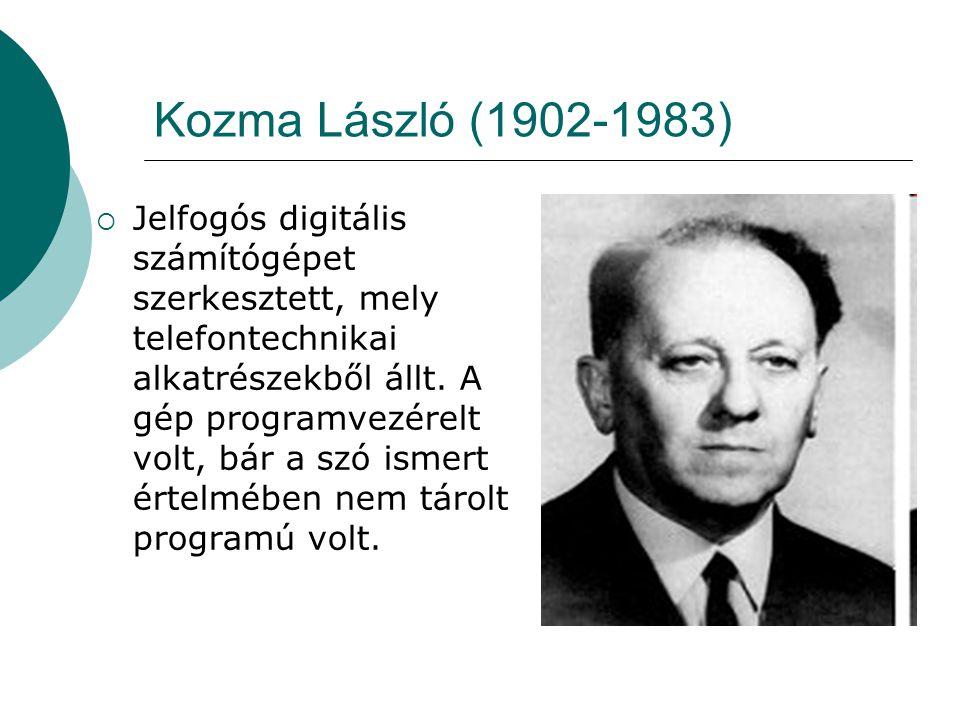 Kozma László (1902-1983)